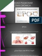 Enfermedad Pulmonar Obstructiva Crónica (Epoc) Diapositiva