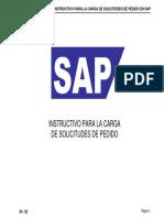 Sap - Instructivo Para La Carga de Sp