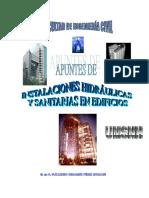 Apuntes de Instalaciones Sanitarias  e Hidraulicas en Edificios