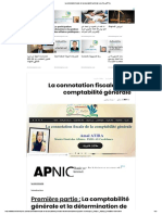 La Connotation Fiscale de La Comptabilité Générale _ مجلة القانون والأعمال