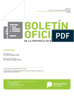 Boletín Oficial de la Provincia de Buenos Aires del Martes 18 de Diciembre