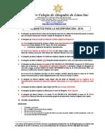 Documentos de Incorporacion Al Cal Sur