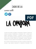 El comunicado de La Cámpora sobre los abusos sexuales