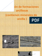 EVALUACION DE FORMACIONES ARCILLOSAS