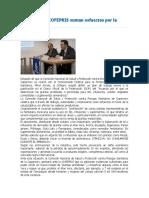 COPARMEX y COFEPRIS Suman Esfuerzos Por La Salud Pública