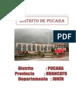 Distrito de Pucara