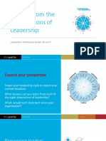 Lessons from the 8 Dimensions of Leadership