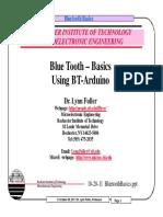 Bluetooth in Arduino
