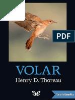 Volar - Henry David Thoreau - 115 Pags