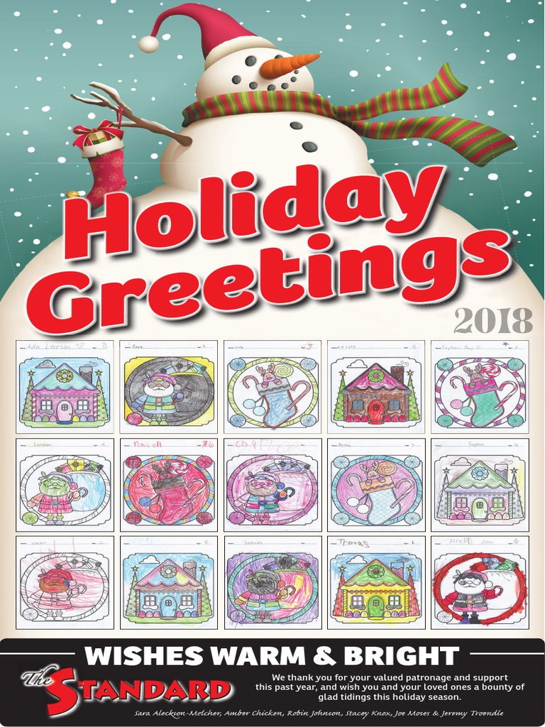 Wickboldt Christmas 2021 Version 2 Christmas Greetings 2018 Santa Claus Christmas And Holiday Season