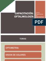Capacitación OFTALMO