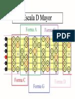 Escala D Mayor - CAGED