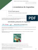 Actividades Económicas de Argentina _ Actividades Economicas