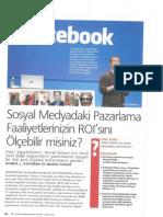 Sosyal Medyadaki Pazarlama Faliyetinizin ROI'sını Ölçebilir mi-ALAMET-Ekonomist