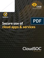 Secure Use of Cloud Apps and Services