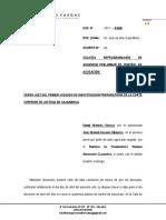 Reprogramación de Audiencia Valdivia Mendoza 2