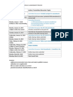 MHA Schedule /Amendment Process