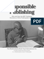 Responsible publishing