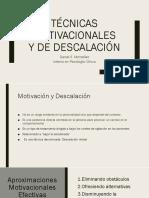 Motivacional y Descalacion