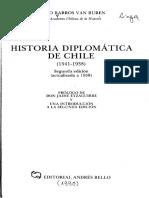 Historia Diplomatica de Chile Barros