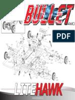 Litehawk Bullet Exploded View
