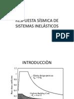 Respuesta Sísmica de Sistemas Inelásticos