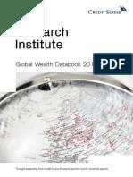 Global Wealth Databook 2018