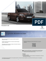 Manual de Usuario Peugeot 301
