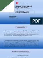Canal Rio Blanco