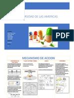 farmacocinetica de anestesicos, aines y opiodes