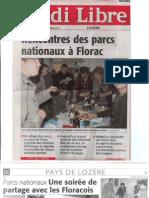 Rencontre des Parcs nationaux français à Florac