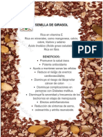 Beneficios Snack de semillas mixtas