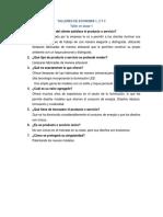 Talleres de Economia 1,2 y 3