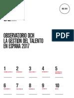observatorio de la gestion del talento
