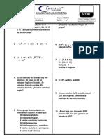 Examen Final de Aritmetica Basico