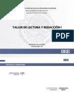 Taller Lectura Redaccion I Biblio2014
