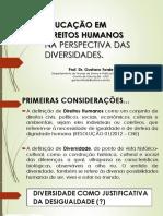 Educação Em Direitos Humanos Na Perspectiva Das Diversidades