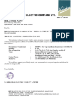 Inspection Call Letter BSP