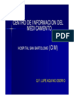 cim hospital bartolome