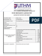 Exp 1 Flowmeter Measurement