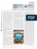 Asian Epidemic, Abstinence Top AIDS Meeting Agenda
