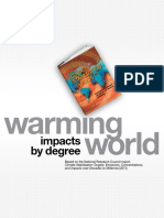 Warming World Impacts By Degree