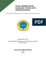 Pendirian UPT Kewirausahaan
