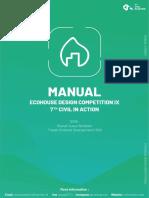 Manual EcoHouse Design Competiton IX