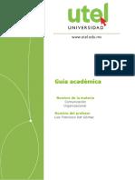 Guía Académica COM ORG Nivelación