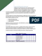 Ensayo de Evaluación Financiera
