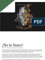 Boletín ¡No Le Llores!