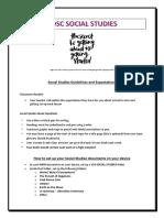 Bdsc Social Studies Intro Lesson y10
