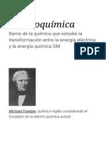 Electroquímica - Wikipedia, La Enciclopedia Libre