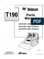 Bobcat T190 Compact Track Loader Parts Catalogue Manual SN 5193 11001 & Above.pdf